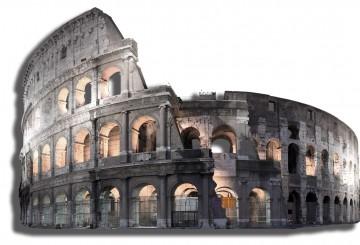 Coliseum, Romans, architecture, Emperor Caesar Vespasian Augustus, gladiatiors, amphitheatre