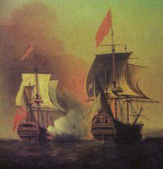Spain, Britain, war, treaty., Caribbean, Gibraltar, Jenkin's Ear,