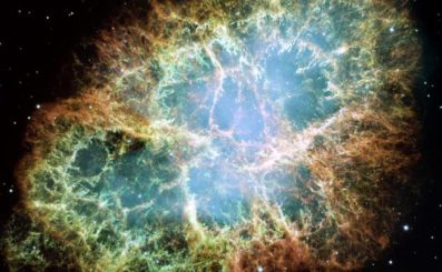 Crab Nebula, hubble telescope, deep space photography