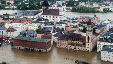 Floods, flooding, European rivers, global warming, climate change, rising water levels, water table