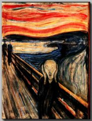 Expressionism, Edward Munch, The Scream, Oslo, bridge